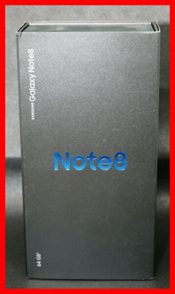NEW SEALED Samsung NOTE 8 SM-N950U 64GB AT&T Orchid Gray Phone 6150B Grey