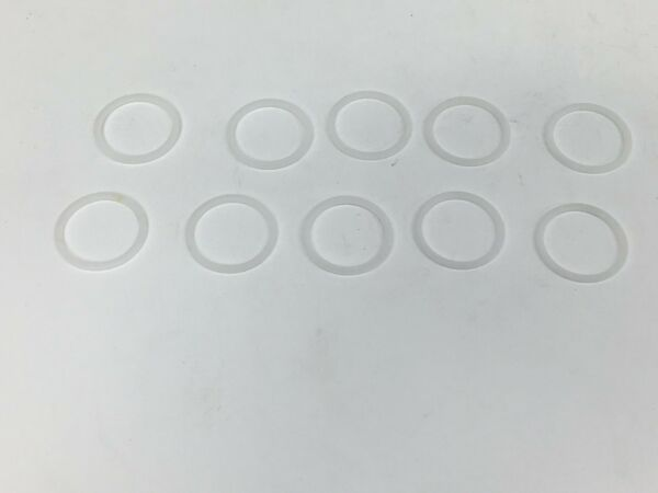10 PACK HOLLEY CARBURETOR FUEL INLET FITTING NYLON WASHERS 78