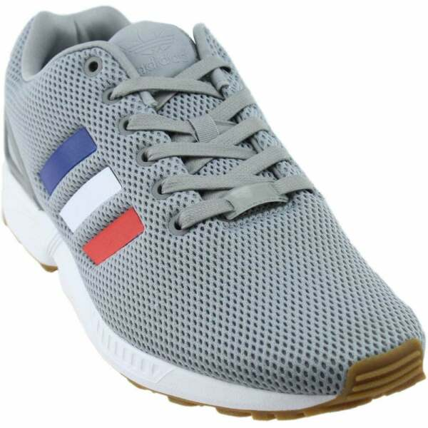 adidas ZX FLUX  Athletic Tennis Court Shoes - Grey - Mens