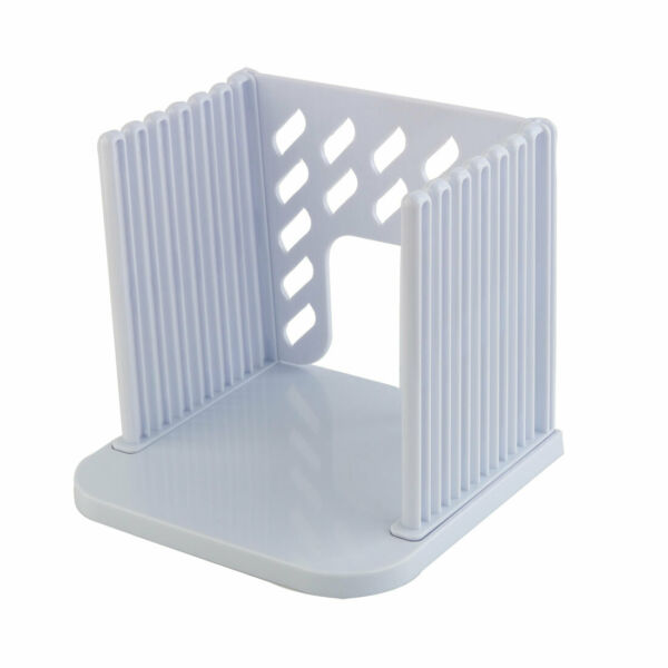 Home Plastic Cutter Separate Bread Slice Toast Slicer Guide Cutting Sheet White