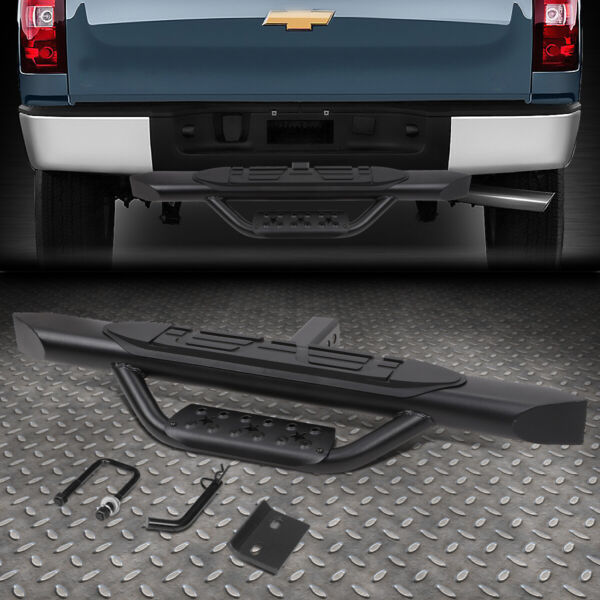 FOR 2quot; RECEIVER TRUCK BED HEAVY DUTY SEEL 3.75quot;OD OVAL TOW HITCH STEP BAR $52.88