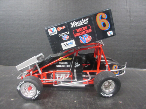 GMP Jeff Gordon # 6 Molds Unlimited 1:18th Scale Sprint Car
