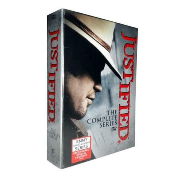 JUSTIFIED The Complete Series Seasons 1-6 NEW DVD Box Set New