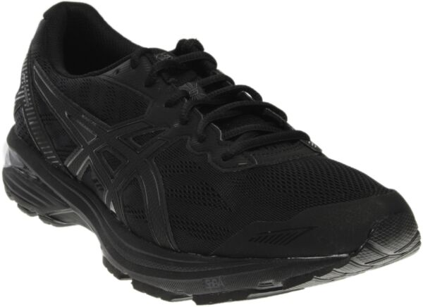 ASICS GT-1000 5  Athletic Running Stability Shoes - Black - Mens
