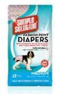 New Reusable Dog Diapers – Large 35 to 55 lbs. Machine Wash $32.45