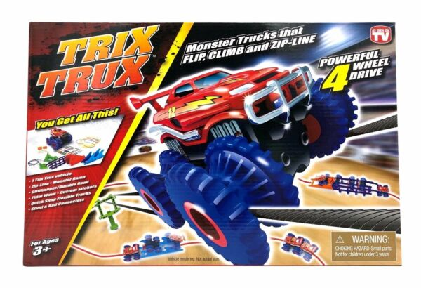 Trix TruX Monster Truck 4-Wheel Drive Toy Tristar Product New in Box As Seen TV