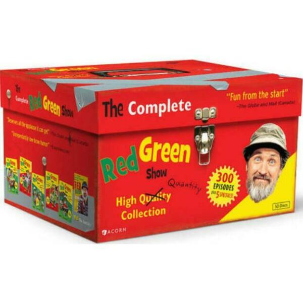 The Complete Red Green Show (DVD 2012 50-Disc Set) New Sealed