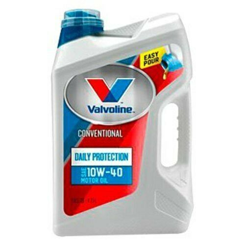 NEW Valvoline 5 Quart Daily Protection SAE 10W-40 Conventional Motor Oil