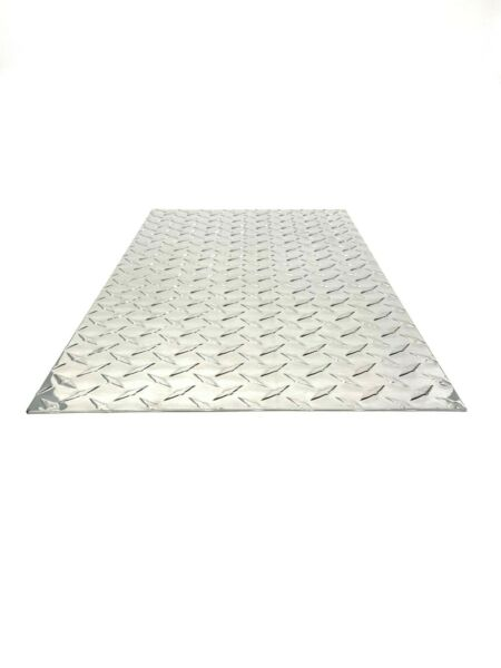 Diamond plate Tread brite Aluminum .063 24quot; x 48quot; NEW 3003 14 gauge $64.99