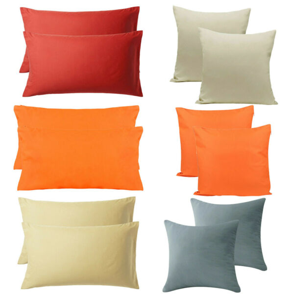 2 PC Christmas Outdoor Throw Pillow Covers Waterproof Cushion Case Invisible Zip
