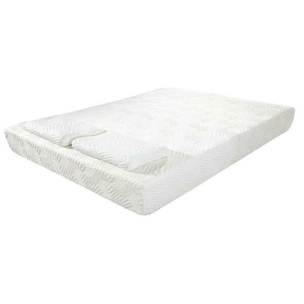 8quot; Full Size Cool Medium Memory Foam Mattress Bed with 2 Free Pillows $199.99