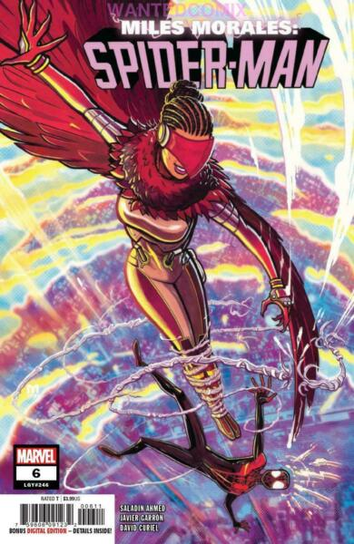 MILES MORALES SPIDER-MAN #6 1st STARLING VULTURE DAUGHTER KEY APPEARANCE NEW 1