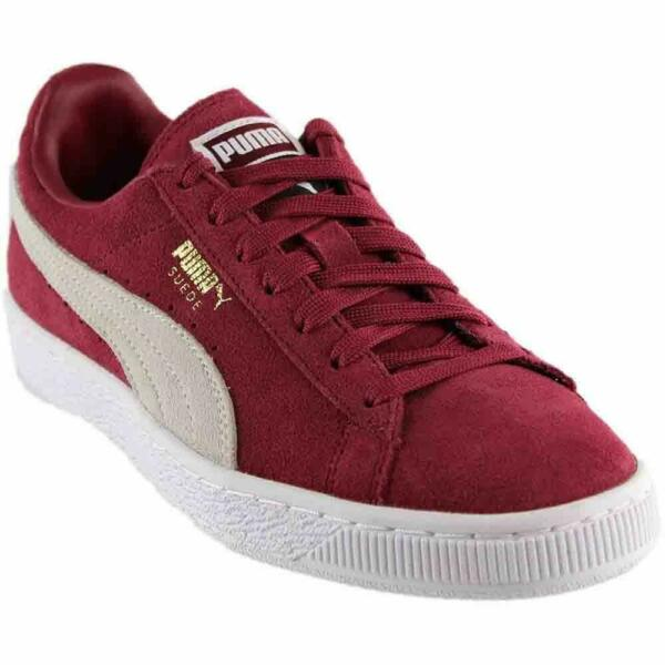 Puma Suede Classic + 36324224 Burgundy Men's Shoes Sneakers Sizes 8-10