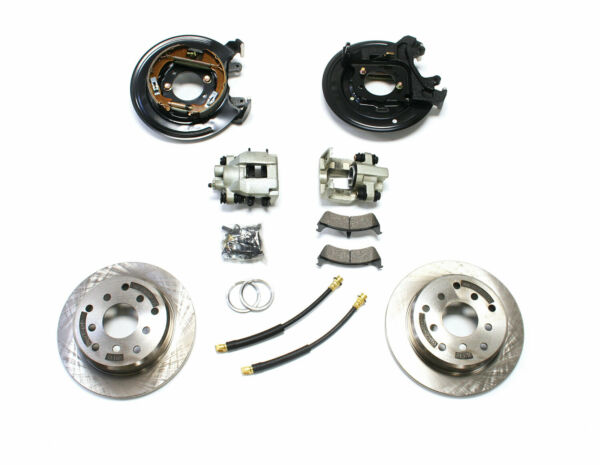 TeraFlex Rear Disc Brake Conversion Kit With Cables For 1991-2006 Jeep