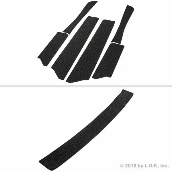 Door Entry Guards Bumper Scratch Shield 13-15 Fits Honda Civic 7pc Kit Protector