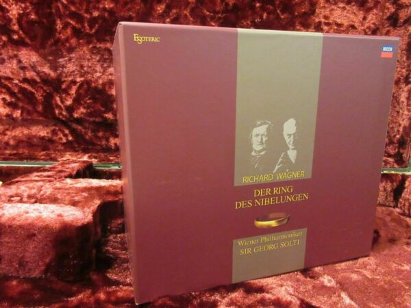 ESOTERIC SACD ESSD-9002135 15Discs WAGNER Der RING VPO SOLTI NEW ALL DISCS FS