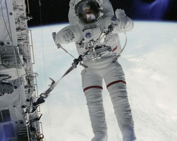 Astronaut Story Musgrave does an EVA outside Challenger on STS 6 Photo Print $7.64
