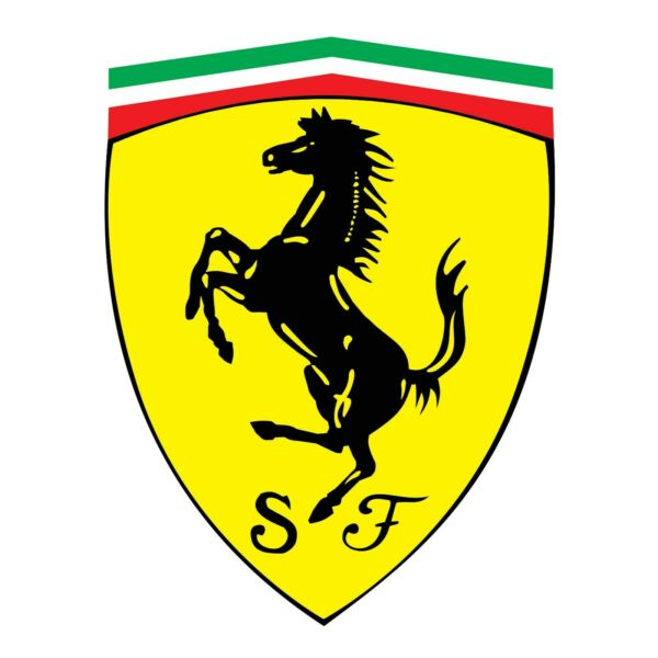 Ferrari Logo Wall Decal Truck Vehicle Window Car Decor Laptop 3M Sticker LO249