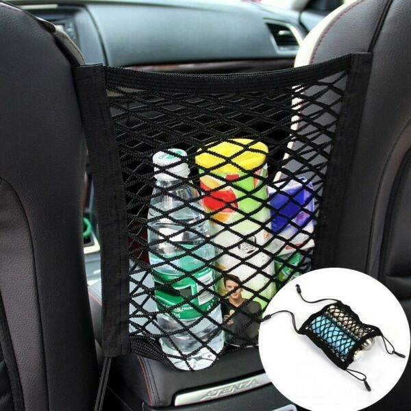 Universal Elastic Mesh Net trunk Bag Car organizer Seat Back Storage Mesh Net $4.99
