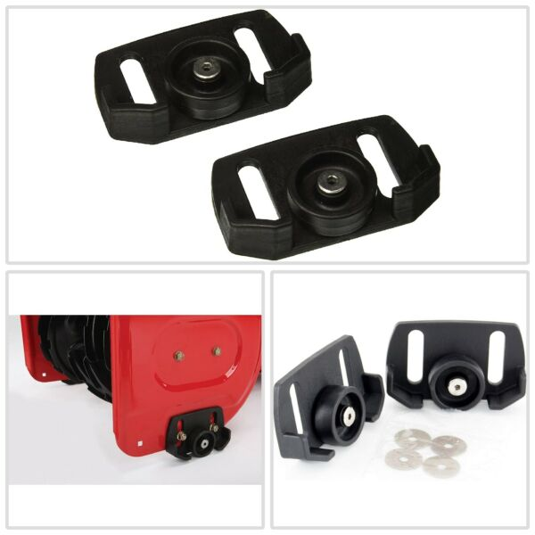 Universal Roller Skid Snow Thrower Shoes Fits Machines  Outdoor Power Tools New