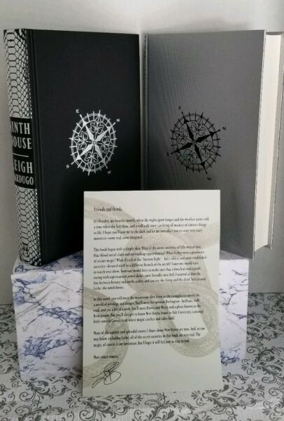 Ninth House by Leigh Bardugo (Special Edition- 2 books sale) Letter