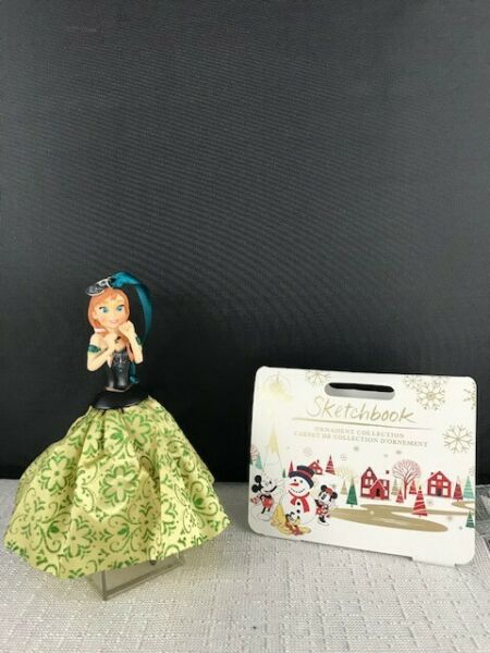 Disney Sketchbook quot;Frozenquot; Ornament Anna. New with tags. P10