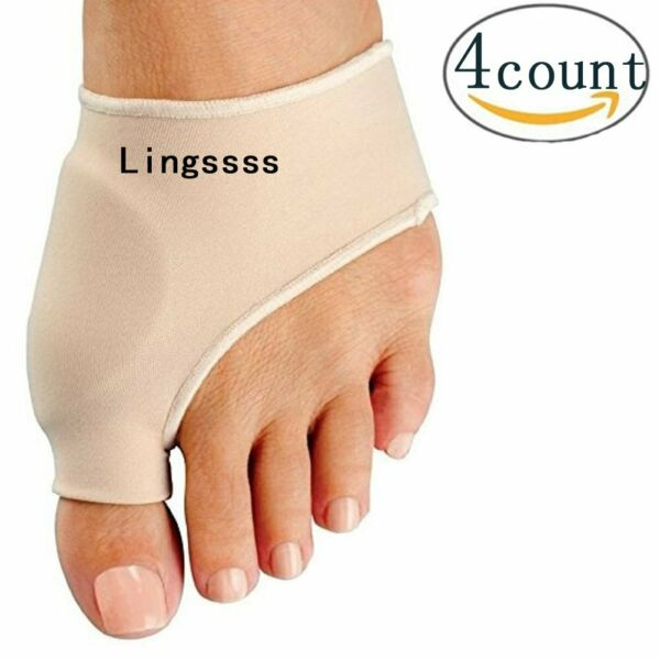 Bunion Corrector Relief Sleeve Pads With Cushion Orthopedic For Men Women 2 Pcs $15.90