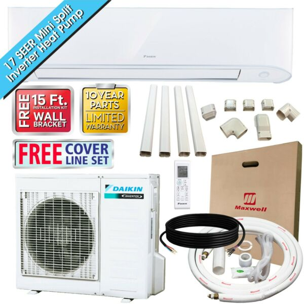 24000 BTU Daikin 17 SEER Mini Split Inverter Heat Pump Set 230V $1399.00