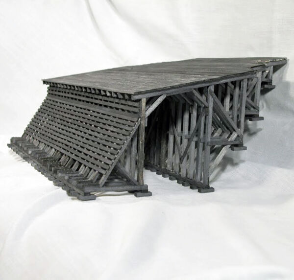 TIMBER MOUNTAIN SNOWSHED HO HOn3 Model Railroad Structure Wood Kit HL201H $109.98