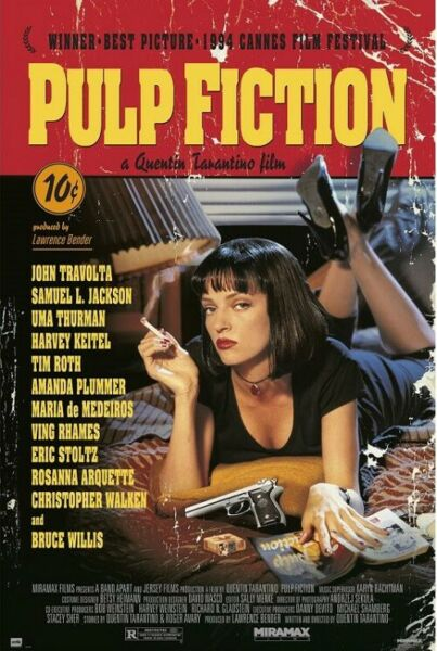 PULP FICTION MOVIE POSTER size 24x36