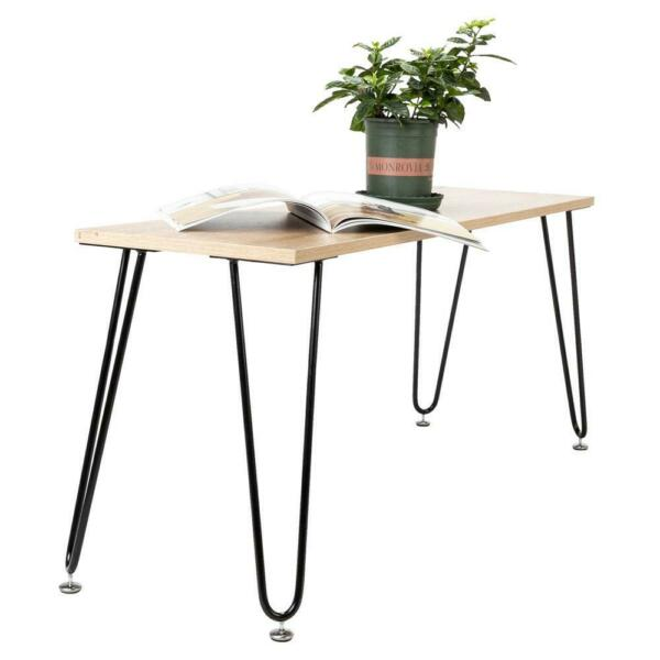 Hot Coffee Metal Table Desk Hairpin Legs 16