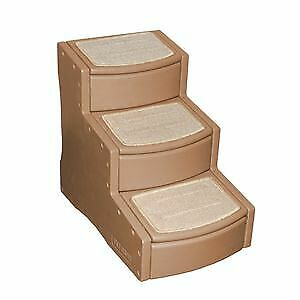 Easy Step III Pet Stairs for dog cat Cocoa