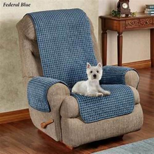 Touch of Class Premier Puff Furniture Protectors with Tuck Flaps Blue $32.39