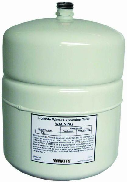 Watts DET 12 4.5 G Potable Water Expansion Tank for 50 Gallon Water Heaters $70.98
