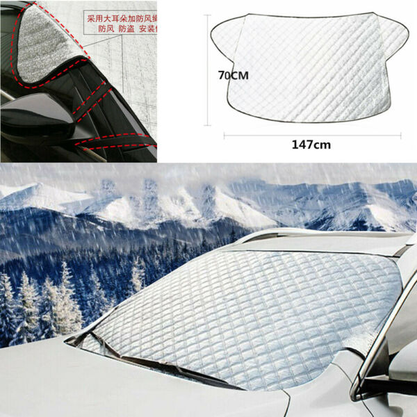 Car Windshield Snow Sun Cover Ice Dust Frost Winter Protector Truck SUV