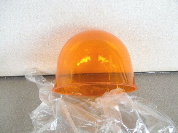 AMBER FEDERAL SIGNAL VINTAGE BEACON RAY F1 LT DOME 17 173 174 175 176 14 11