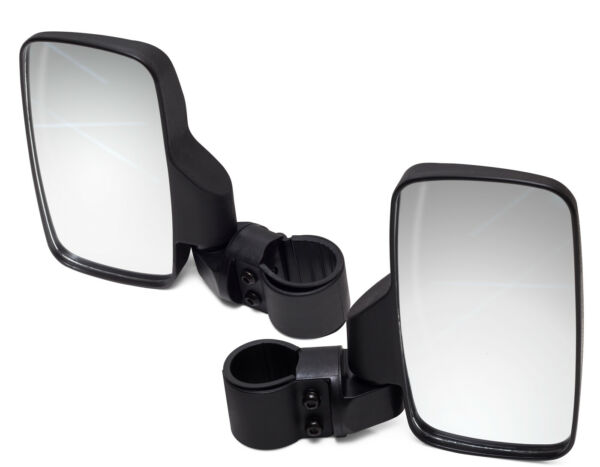 Offroad Rear View Side Mirror Set for ATV UTV Adjustable Driver Passenger Glass