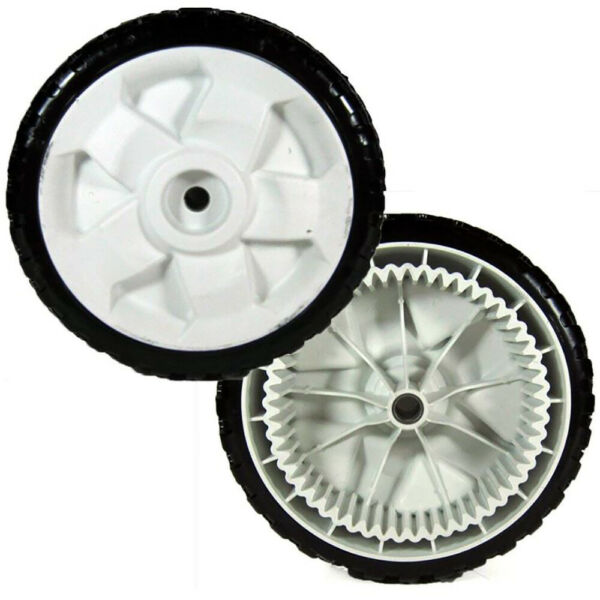 Two 2 119 0311 Replacement FWD 8 Inch Drive Wheels Fits Toro 22quot; Recycler Mowe