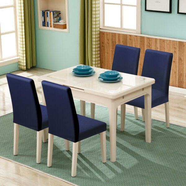 6 x Stretch Dining Chairs Cover Removable Slipcover Home Dining Furniture Covers $32.99