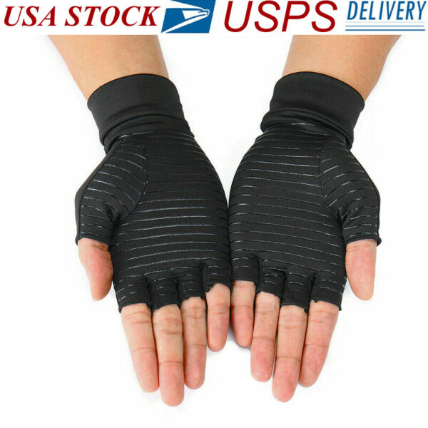 1 pair Copper fit Compression Arthritis Gloves Best Copper Infused Fit Glove