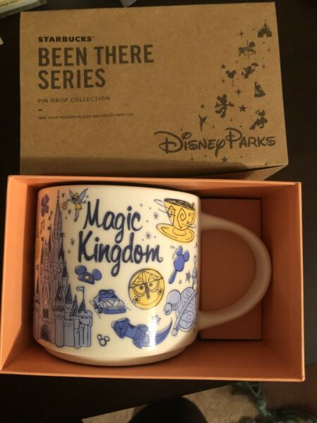 Starbucks Magic Kingdom Been There Mug Disney Parks 14 Oz