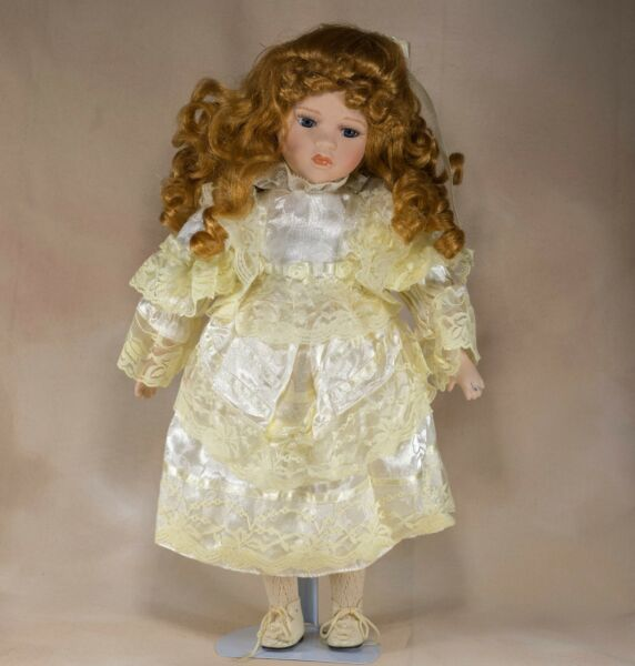 Collector's Porcelain Girl Doll 16