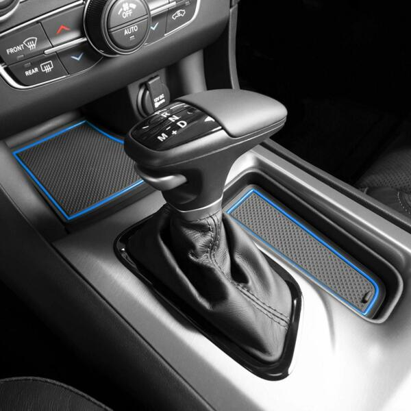 Cup Holder Liner Insert Accessories For Dodge Charger 2011-2020 Blue Trim 22-pc