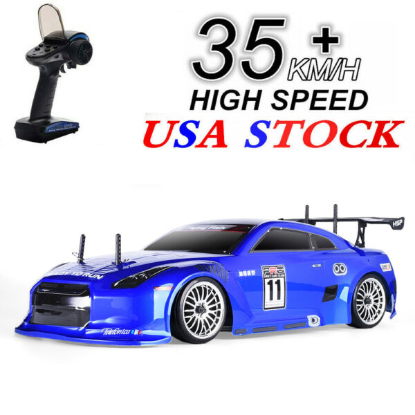 HSP Racing Drift RC 2.4Ghz Car 4wd 1:10 RTR Electric Vehicle On Road Flying Fish $159.99