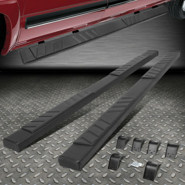 FOR 09 20 RAM 1500 2500 3500 QUAD CAB BLACK 5quot; SIDE STEP NERF BAR RUNNING BOARD $125.88