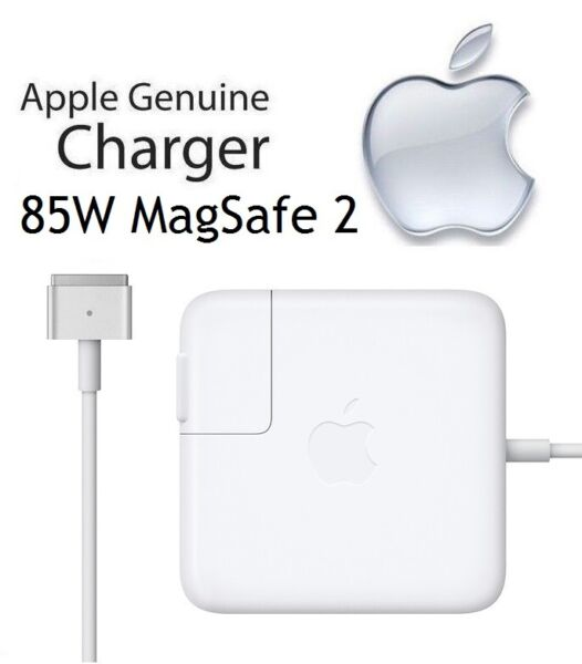 Apple MacBook Pro 15 inch 85W MagSafe 2 Power Adapter Charger MD506LL A A1424