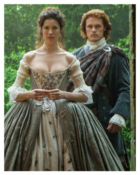 Outlander Caitriona Balfe And Sam Heughan 8x10 Picture Celebrity Print