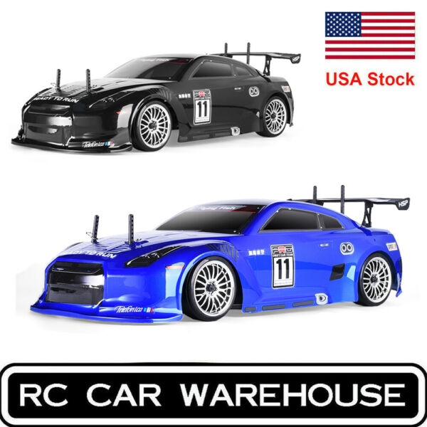 HSP Racing Drift RC Car 4wd 1:10 Electric On Road Flying Fish RTR FlyingFish US $159.99