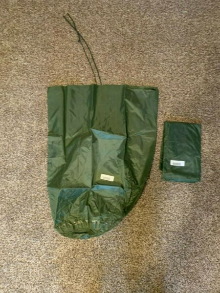 NEW US Army Military WATERPROOF CLOTHES Clothing GEAR WET WEATHER LAUNDRY BAG GC