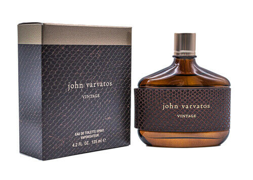 John Varvatos Vintage by John Varvatos 4.2 oz EDT Cologne for Men New In Box